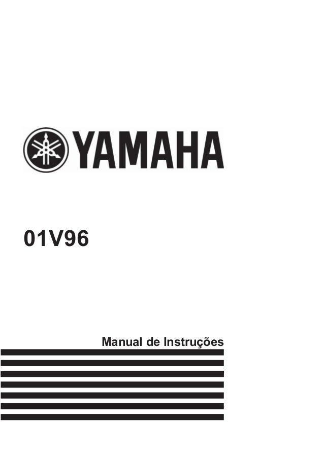 Manual de Instruções 01V96