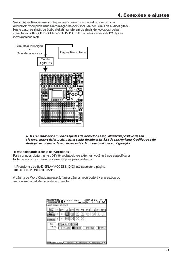 yamaha 01v96 portugues rh pt slideshare net yamaha 01v block diagram Digital Mixing Console Yamaha 01V96