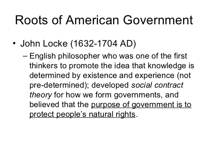 An analysis of the theories of the natural law by john locke an english philosopher