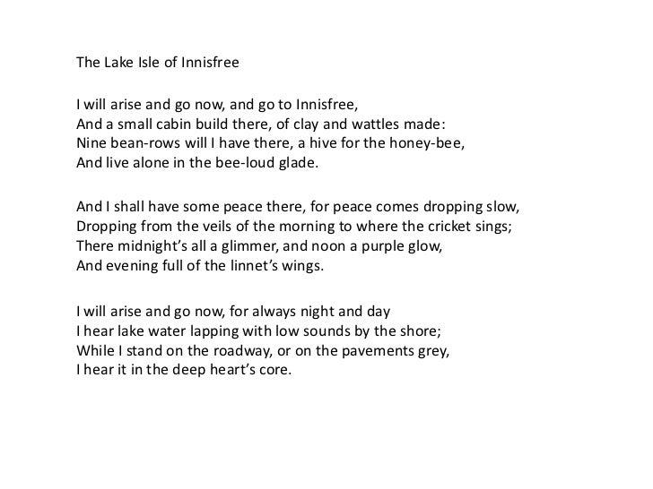 01 Yeats Innisfree
