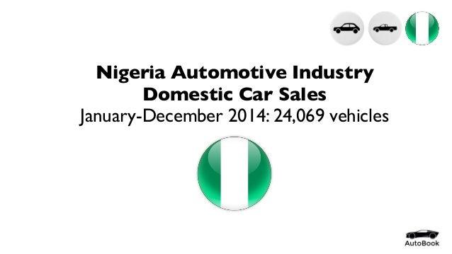 Nigeria Automotive Statistics Full Year 2014 by Model