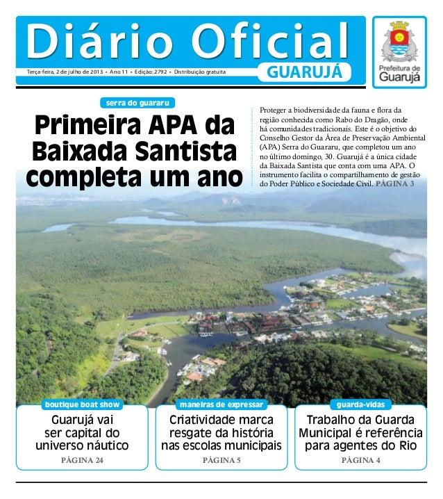 Guarujá vai ser capital do universo náutico Página 24 boutique boat show Trabalho da Guarda Municipal é referência para ag...