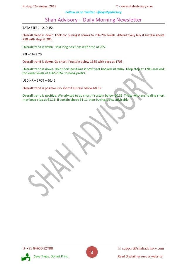 Daily Newsletter - 02-08-2013 Slide 3