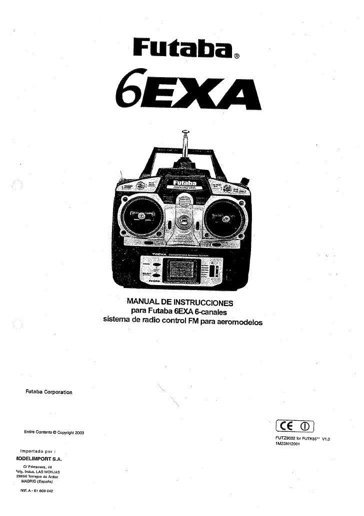 manual futaba 6 exa