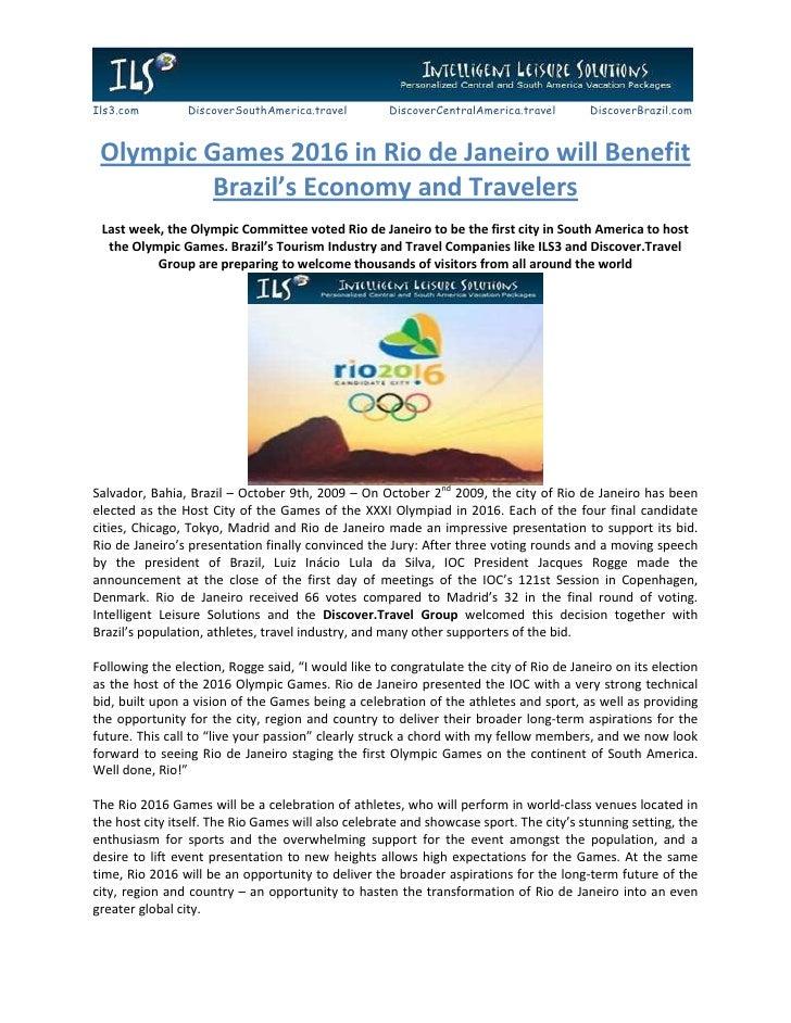 Ils3.com        DiscoverSouthAmerica.travel         DiscoverCentralAmerica.travel       DiscoverBrazil.com     Olympic Gam...