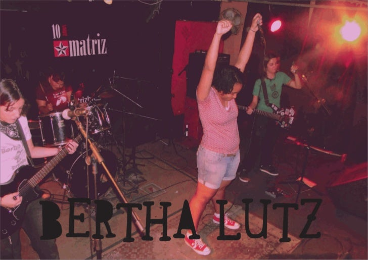 Bertha Lutz Band Release