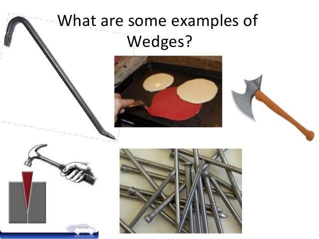 types of wedges simple machine