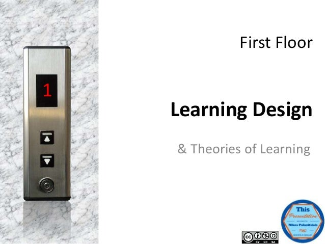 First Floor Learning Design & Theories of Learning 1