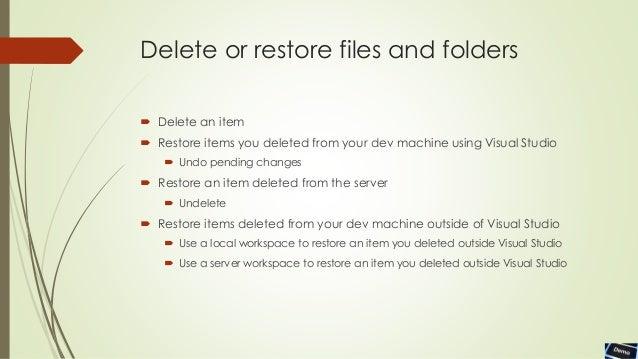 TFS Source Control Management