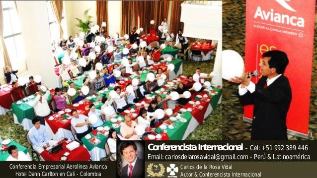Conferencias Motivacionales Conferencista Internacional