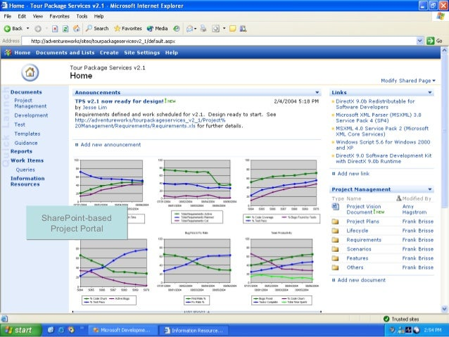 Project Portal SharePoint-based Project Portal SharePoint-based Project Portal