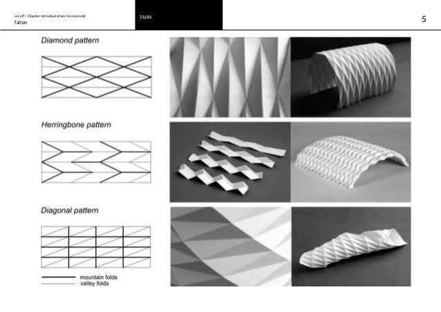 on/off – Objekte mit kalkuliertem Formwandel falten Statik 5