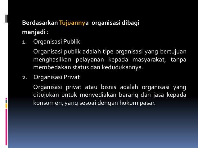 Materi Konsep Organisasi
