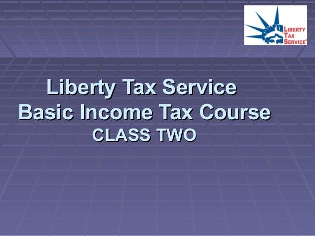 Liberty Tax Service Chapter 2