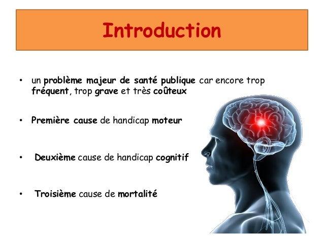 accident vasculaire cérébral (avec mp3) Slide 2
