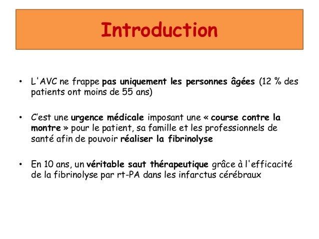 accident vasculaire cérébral (avec mp3) Slide 3