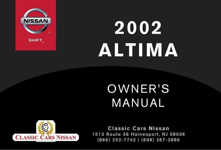 2002 Altima Owner's Manual: 2002 Nissan Altima Fuse Box Schematic At Bitobe.net