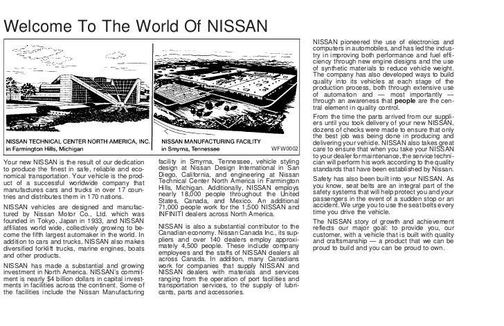 2002 altima owner s manual rh slideshare net 2002 nissan altima 3.5 se owners manual Nissan Altima Manual PDF