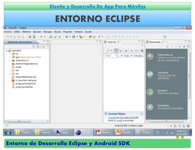 Entornos de desarrollo eclipse y android sdk for Android ar sdk