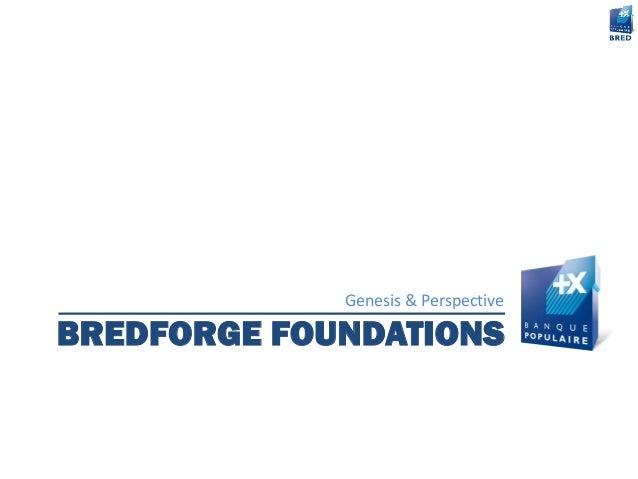 BREDFORGE FOUNDATIONS Genesis & Perspective