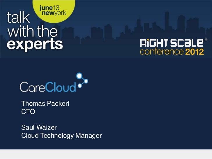 Thomas PackertCTOSaul WaizerCloud Technology Manager