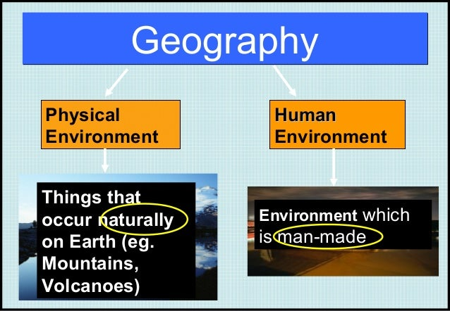 physical and human geography Buy the earth: a physical and human geography on amazoncom ✓ free  shipping on qualified orders.