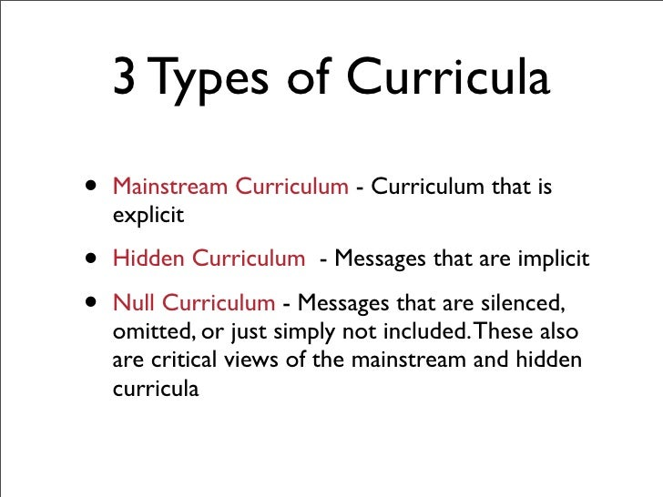 curriculum in education The mission of the department of curriculum and instruction is to advance knowledge and the practice of teaching and learning.