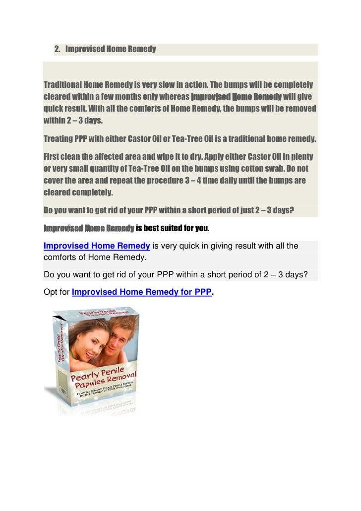 papules treatment home remedies