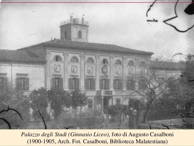 02 curiosita storiche del liceo monti cesena la sede