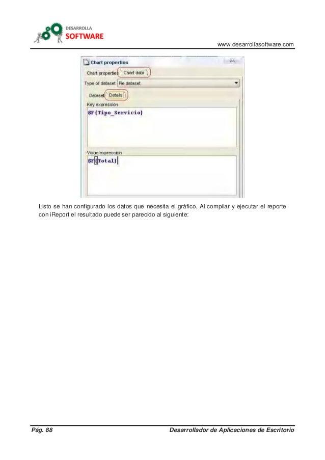 www.desarrollasoftware.com Pág. 88 Desarrollador de Aplicaciones de Escritorio Listo se han configurado los datos que nece...