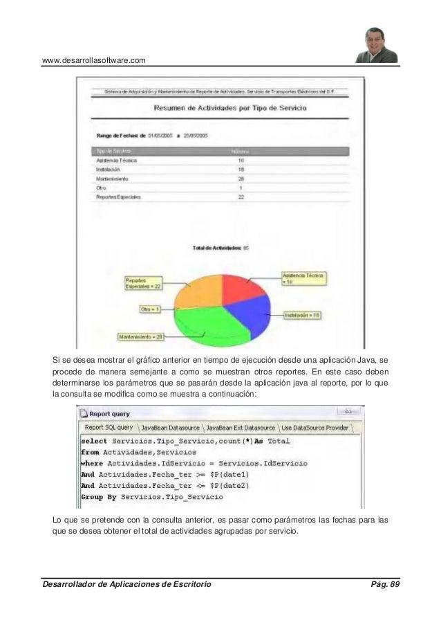 www.desarrollasoftware.com Desarrollador de Aplicaciones de Escritorio Pág. 89 Si se desea mostrar el gráfico anterior en ...