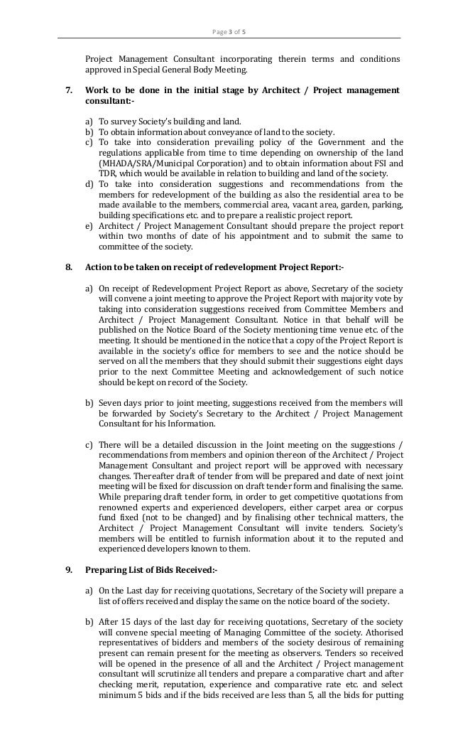 02 Directive Of Maharashtra Co Operative Housing Society