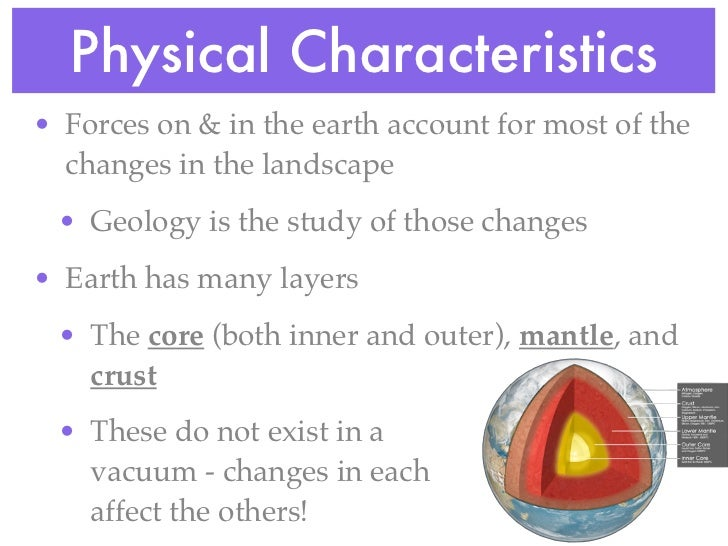 physical characters of planet earth Mars characteristics the length of a mars day is slightly longer than an earth day the red planet takes 24 this difference in surface characteristics is.