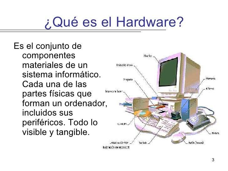 Informatica Que Es Hardware