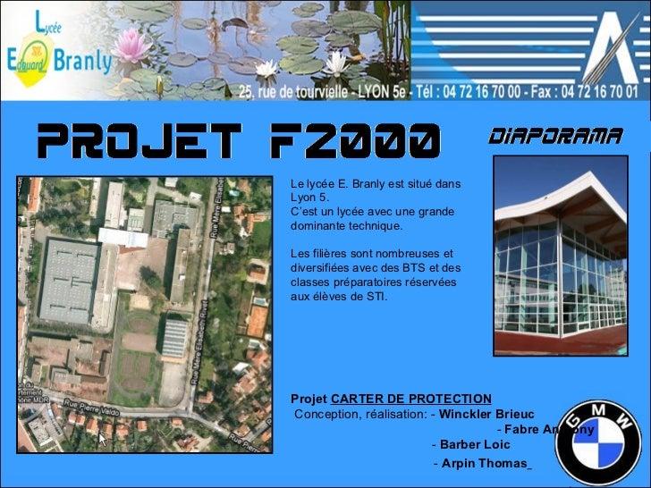 Projet  CARTER DE PROTECTION Conception, réalisation: -  Winckler Brieuc    -  Fabre Anthony   -  Barber Loic  -  Arpin Th...
