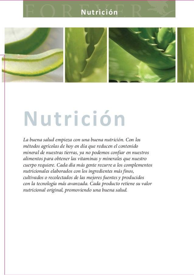 NutriciónNutriciónLa buena salud empieza con una buena nutrición. Con losmétodos agrícolas de hoy en día que reducen el co...