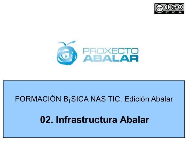 FORMACIÓN BÁSICA NAS TIC. Edición Abalar 02. Infrastructura Abalar