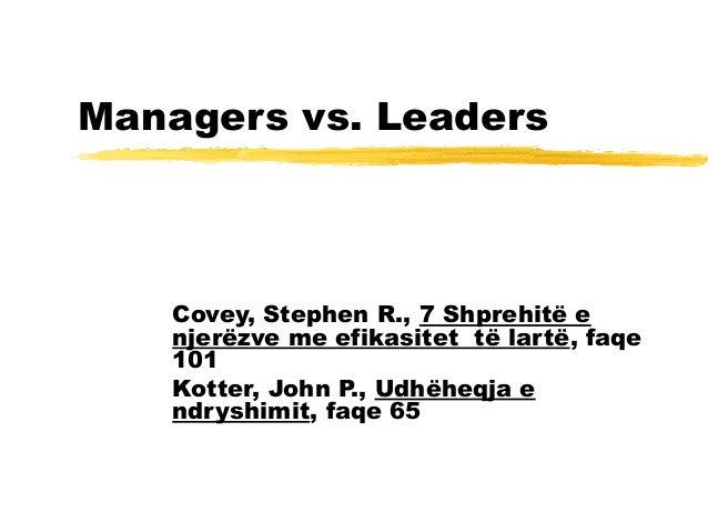 02 leadership vs managment