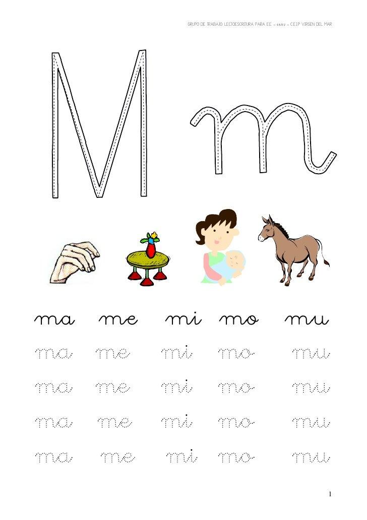 Magnífico Letra M Hojas De Trabajo Imagen - hojas de trabajo para ...