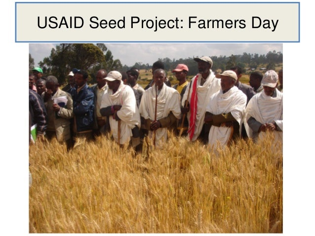 USAID Seed Project: Farmers Day