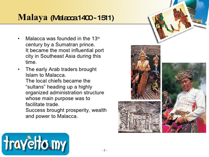 A brief history of malaysia