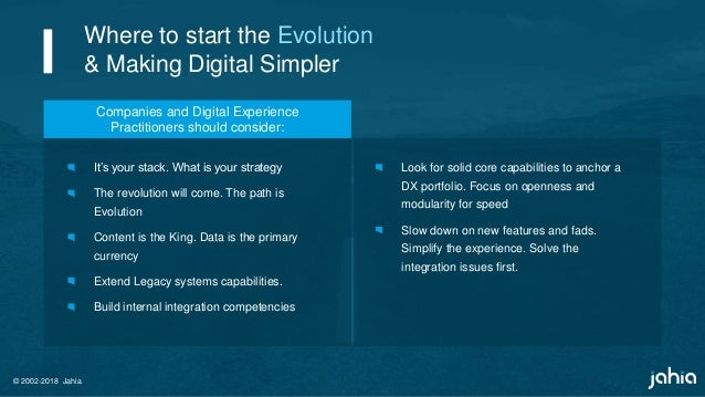 Making Digital simpler  Occam's Razor, Horses, Zebras, and