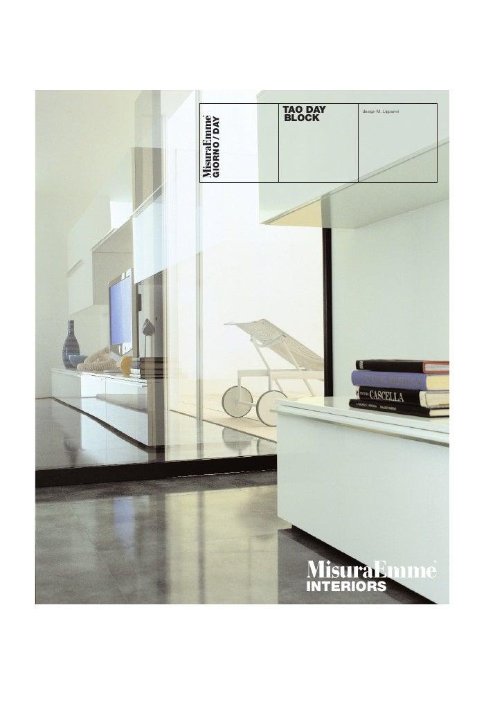 TAO DAY   design M. Lipparini                BLOCK     GIORNO / DAY                       INTERIORS