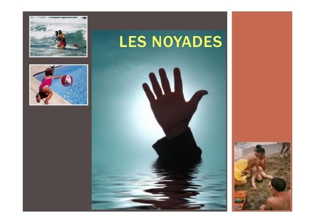 LES NOYADES