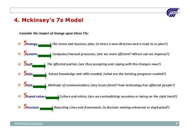 Target operating model mckinsey