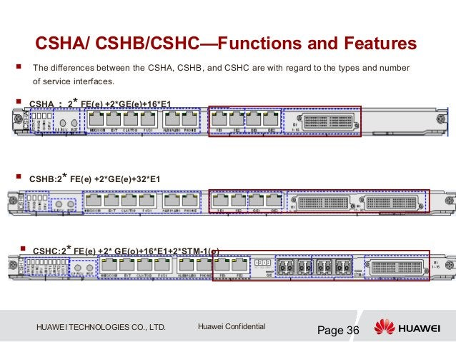 CSHA/ CSHB/CSHC—Functions and Features   The differences between the CSHA, CSHB, and CSHC are with regard to the types an...