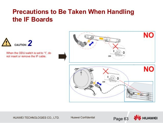 """Precautions to Be Taken When Handling     the IF Boards                 2When the ODU switch is set to """"I"""", donot insert o..."""