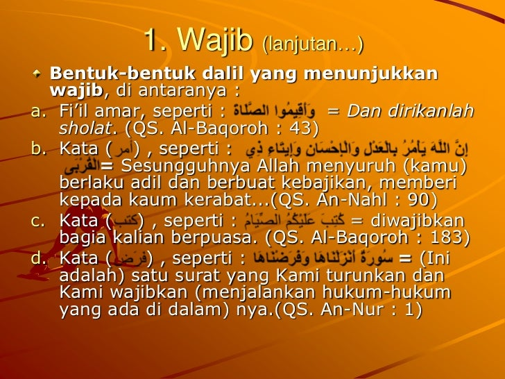 10 Contoh Hukum Wajib - Contoh Resource