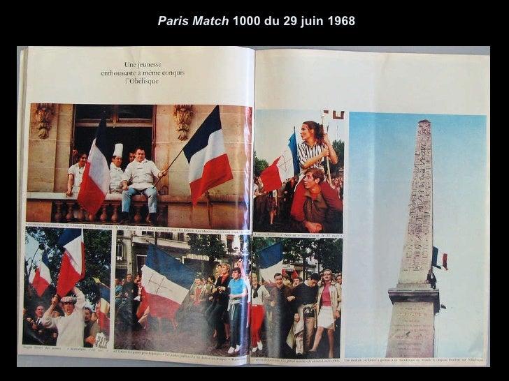 Paris Match  1000 du 29 juin 1968