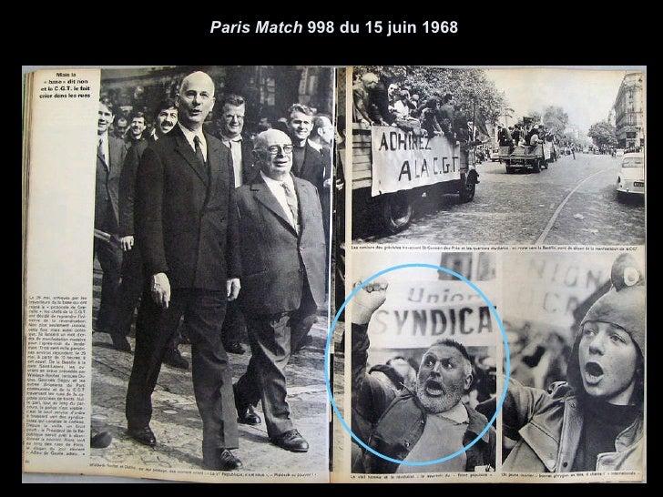 Paris Match  998 du 15 juin 1968